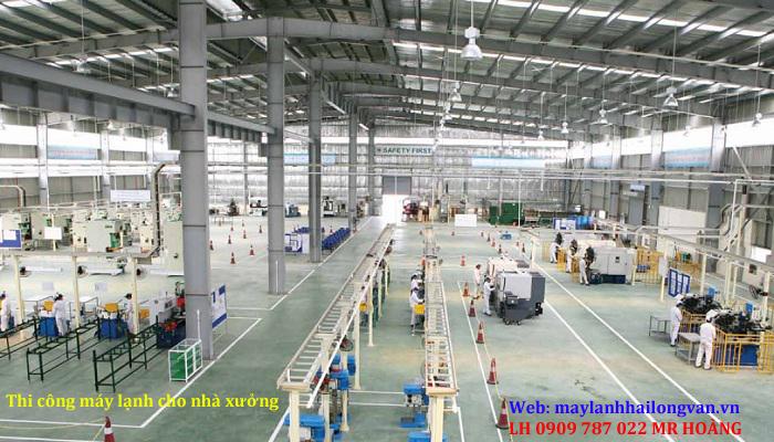 Cung cấp – lắp đặt – thi công máy lạnh giấu trần ống gió cho nhà xưởng chuyên nghiệp GIÁ SỈ SÀI GÒN 1