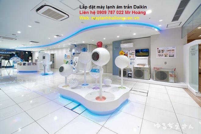 Máy lạnh âm trần Daikin – Tổng đại lý phân phối máy lạnh Daikin giá gốc