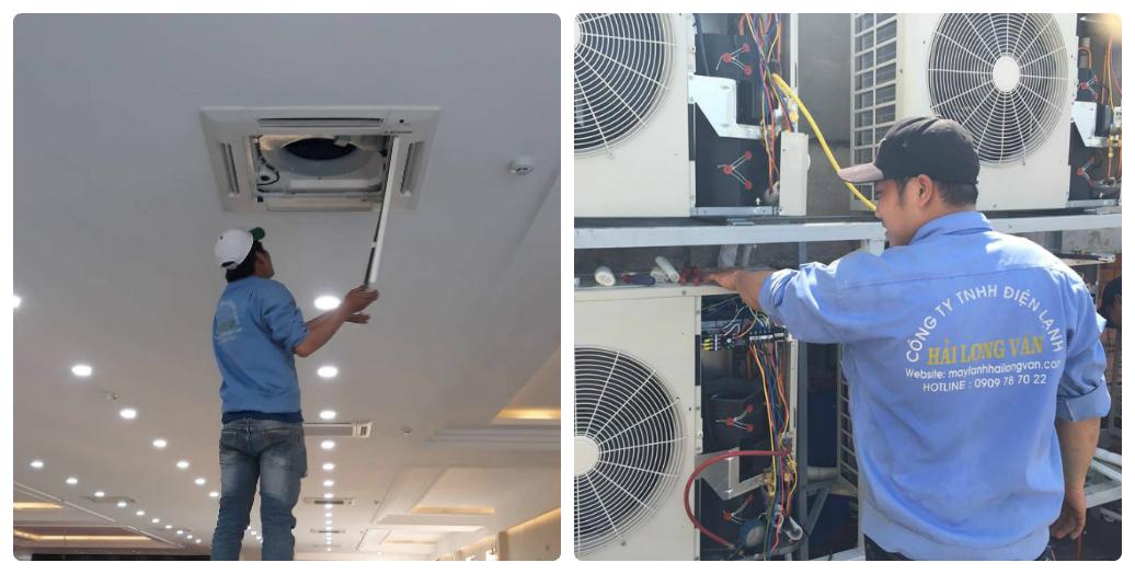 Điện tử, điện lạnh:5 máy lạnh Mitsubishi Heavy chất lượng nhất cho công trình Lap%20may%20lanh%20am%20tran%20gia%20goc%20hai%20long%20van