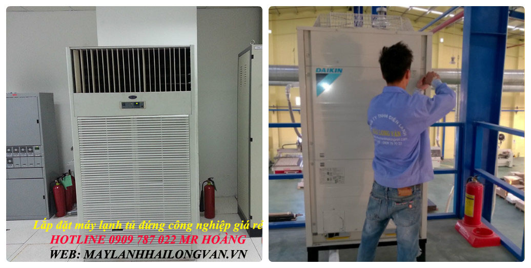 Giá máy và giá lắp đặt bao rẻ cho máy lạnh tủ đứng LG