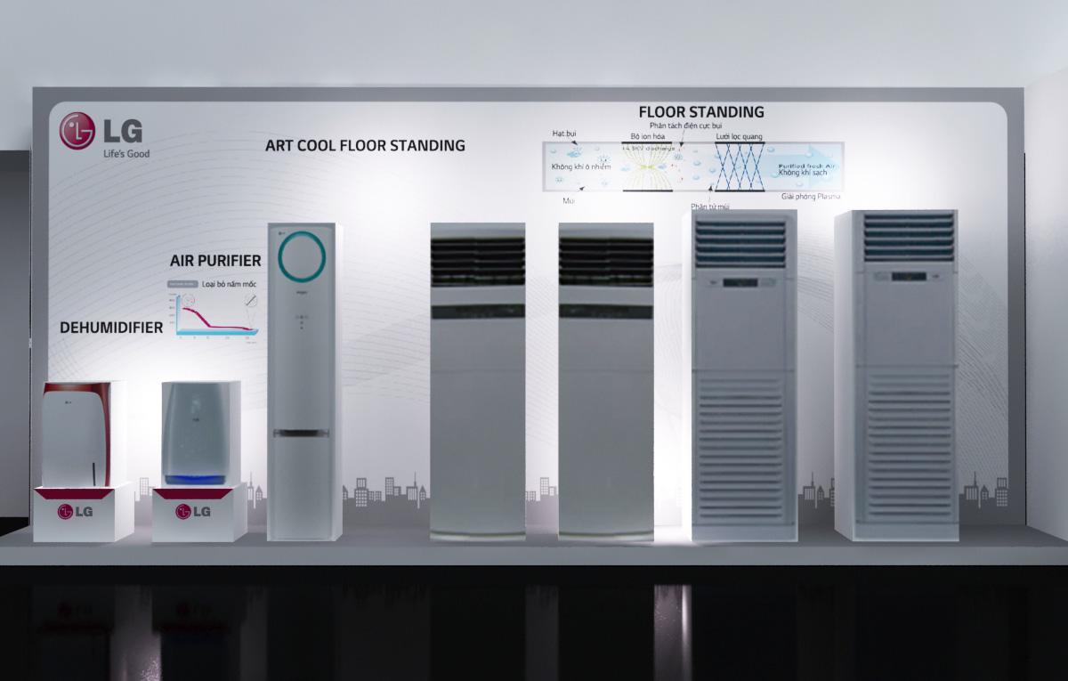 Báo giá máy lạnh tủ đứng LG mới nhất hiện nay - đại lý máy lạnh Hóc Môn