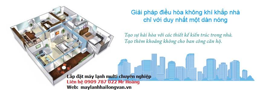 Máy lạnh multi Daikin – Đại lý bán và lắp đặt giá rẻ nhất TP HCM