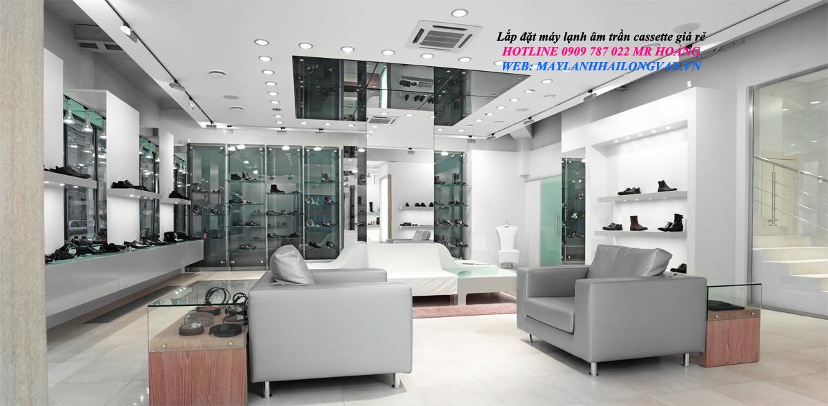 Hãng phân phối trực tiếp dòng Máy lạnh Máy lạnh âm trần Daikin Inverter Gas R32  giá đại lý tốt