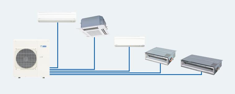 Điểm phân phối máy lạnh Multi chính hãng và đảm bảo được giá thành ổn định nhất