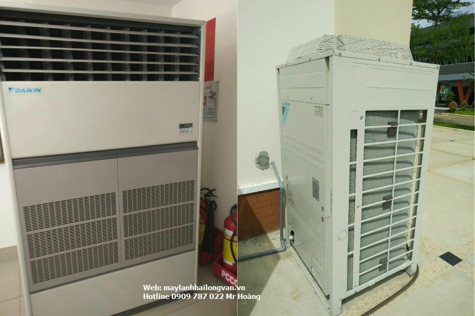 Cung cấp máy lạnh tủ đứng Daikin đặt sàn thổi trực tiếp gas R410 FVGR08 giá sỉ